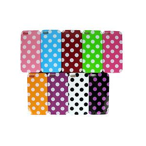 New TPU Cell Phone Cases for iPhone 5 5g Polka Dot Spots Assorted