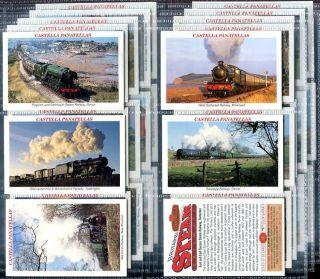 Tobacco Card Set Castella Britains Steam Railways Train Rail