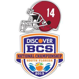 Crimson Tide 2013 BCS National Championship Game Bound Lapel Pin