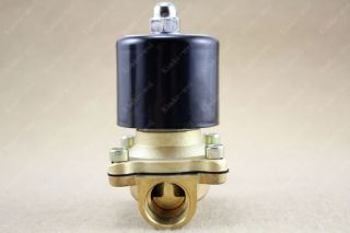24V 1 2 DC Electric Solenoid Valve Water Gas Diesel