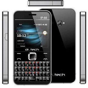 Dr Tech IP88 Black Dual Sim Unlocked Cell Phone