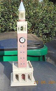 North Carolina Chapel Hill Tower Clock Replica Tarheels