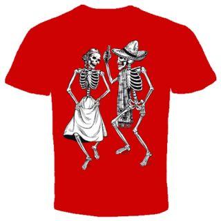 Dancing Skeleton Bones Skull Cool Funny T Shirt s 2X