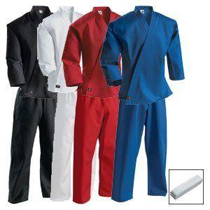 Century Martial Art Black Child Size Uniform