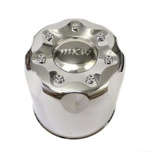 MKW Pacer Traxx Mystic Edge Wheel Center Cap Chrome Truck