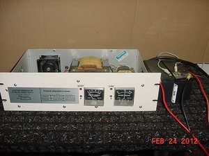 POWER SUPPLY INVERTER 28 VDC 30 AMP.WORKS LINEAR CB HAM RADIO