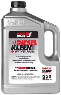 Service Diesel Kleen+Cetane Boost Diesel Fuel Injector Cleaner, 80 oz