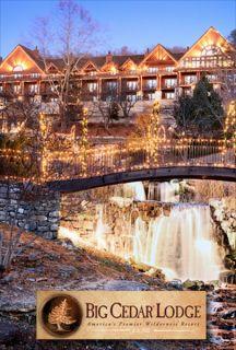 + Leisure Magazine Readers Vote Big Cedar Lodge 6TH in the Nation