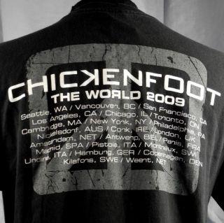 Tour T Shirt Large Black Sammy Hagar Satriani Smith Anthony