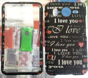 HTC Inspire 4G Cell Phone Faceplates Cover Case D107