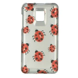 Lady Bug Hard Case Snap on Phone Cover LG T Mobile G2X