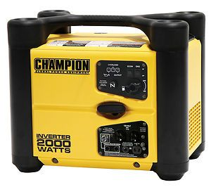 New Carb Champion 2000 Wa Gas Porable Gasoline Generaor Inverer