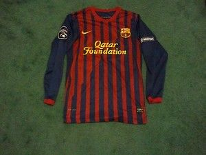 Messi Barcelona Champions League Jersey Authentic