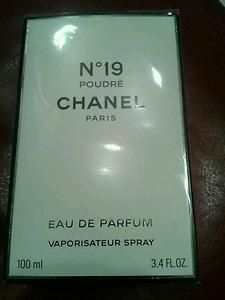 Chanel No 19 Perfume Authentic Still in Original Package