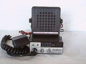 COBRA 19 Plus 40 Channel CB Radio, & president 711 external speaker