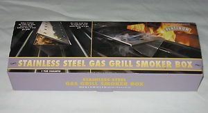 Charcoal Companion Platinum Stainless Steel Gas Grill V Shape Large