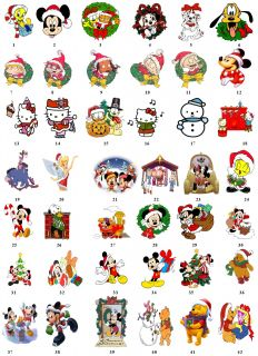 Cartoon Pooh Christmas Return Address Labels Gift Favor Tags Buy 3 Get