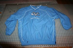 Central Valley Bears Baseball Pullover Jacket Mens Large Russell ATH