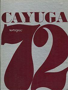 USS Cayuga LST 1186 Westpac Deployment Cruise Book Year Log 1972 Navy