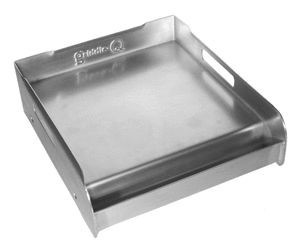 GQ12S Stainless Steel Griddle for Gas and Charcoal Grills