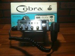 Vintage CB Radio Cobra 25 GTL 40 Channel CB Radio