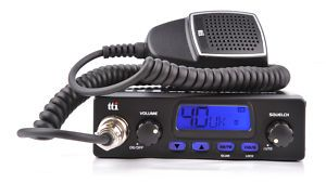 TTI TCB550 CB Radio Kit with Springer Antenna and Mount