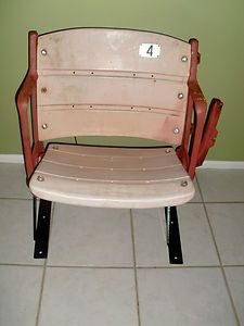 Busch Stadium Seat   St Louis Cardinals   1982 World Series