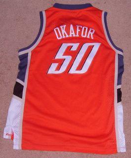Emeka Okafor Jersey Shirt Charlotte Bobcats Sewn Stitch Youth Kids