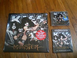 KISS Monster CD BEST BUY  EXCLUSIVE LP Version COMBO NEW