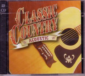 Time Life Classic Country Acoustic New SEALED Various 2 CD
