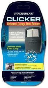 Chamberlain Clicker Universal Garage Door Remote Control KLIK1U