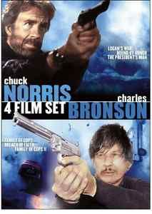 Chuck Norris Charles Bronson 4 Film Set DVD 2010 NEW SEALED PRESIDENTS