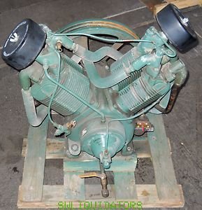 Champion air compressor pump r30d model no BRF 15 15 horse