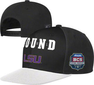 LSU Tigers 2011 BCS National Championship Game Bound Snapback Hat