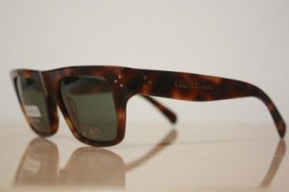 Celine Paris Brown Tortoise Polarized Lenses Sunglasses SC1748 New in