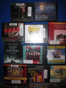 11 MYSTERY SUSPENSE AUDIO BOOKS ON CD UNABRIDGED $278 HUGE LOT