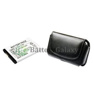 Cell Phone Battery Pouch Case for LG Optimus s LS670