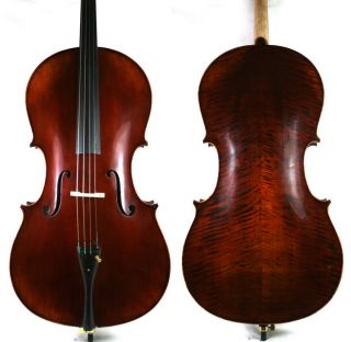 Come with hard foam Cello case, high quality brazilwood bow and