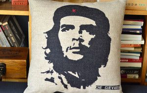 Che Guevara Freedom Fighters Cotton Linen Pillow Case Cushion Cover 18