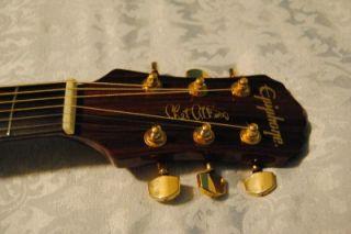 Chet Atkins Epiphone Acoustic Electric Guitar w Original Case New