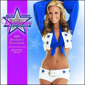 Dallas Cowboy Cheerleaders 2013 Wall Calendar