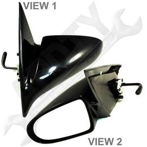 1995 2001 Geo Chevy Metro Drivers Side View Mirror Left Manual
