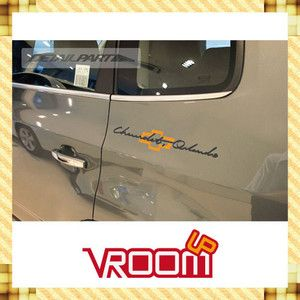 Chevrolet Orlando Logo Lettering Sticker Decal Fit Chevrolet Orlando