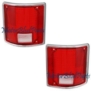 78 91 Blazer Jimmy Tail Lights Lens Cover Right Left