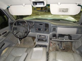 from this vehicle 2003 CHEVY SILVERADO 2500 PICKUP Stock # WM6695