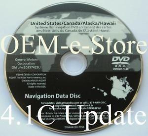 2008 2009 2010 Chevy Silverado LS LT LTZ Hybrid Navigation DVD Map CD