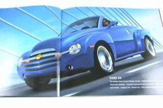 2006 06 Chevrolet Chevy SSR Truck Brochure Catalog