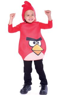 Angry Birds Red Bird Toddler Costume 3T 4T Size 3T 4T