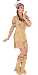 AMERICAN GIRL COSTUME INDIAN WOMAN PRINCESS TRIBAL POCAHONTAS CHEROKEE