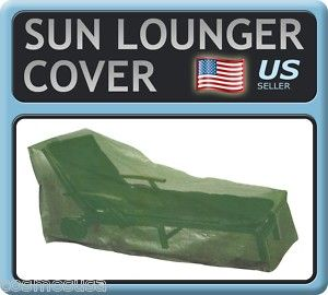 Chaise Lounger COVER   Value Outdoor Sun Lounge Patio Garden Furniture